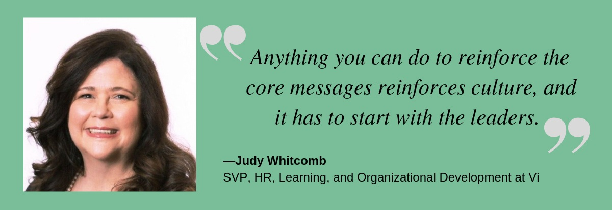 Talent Champions Judy Whitcomb quote