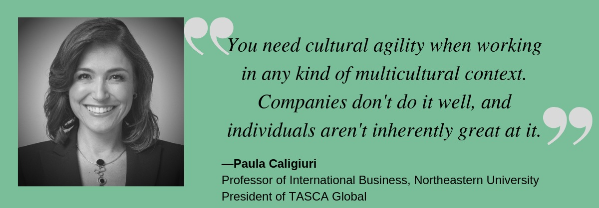 Talent Champions episode 22 Paula Caligiuri working across cultures