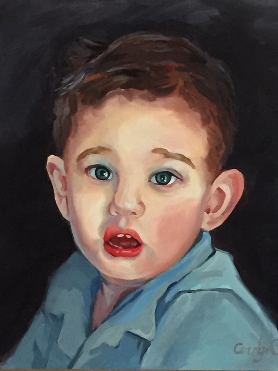 Carolyn Sotelo - Oil on CanvasTucson, ArizonaWebsite