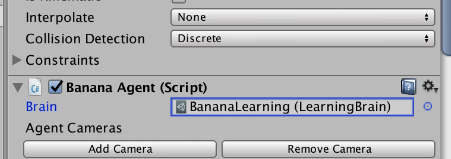 Changing from BananaPlayer to BananaLearning