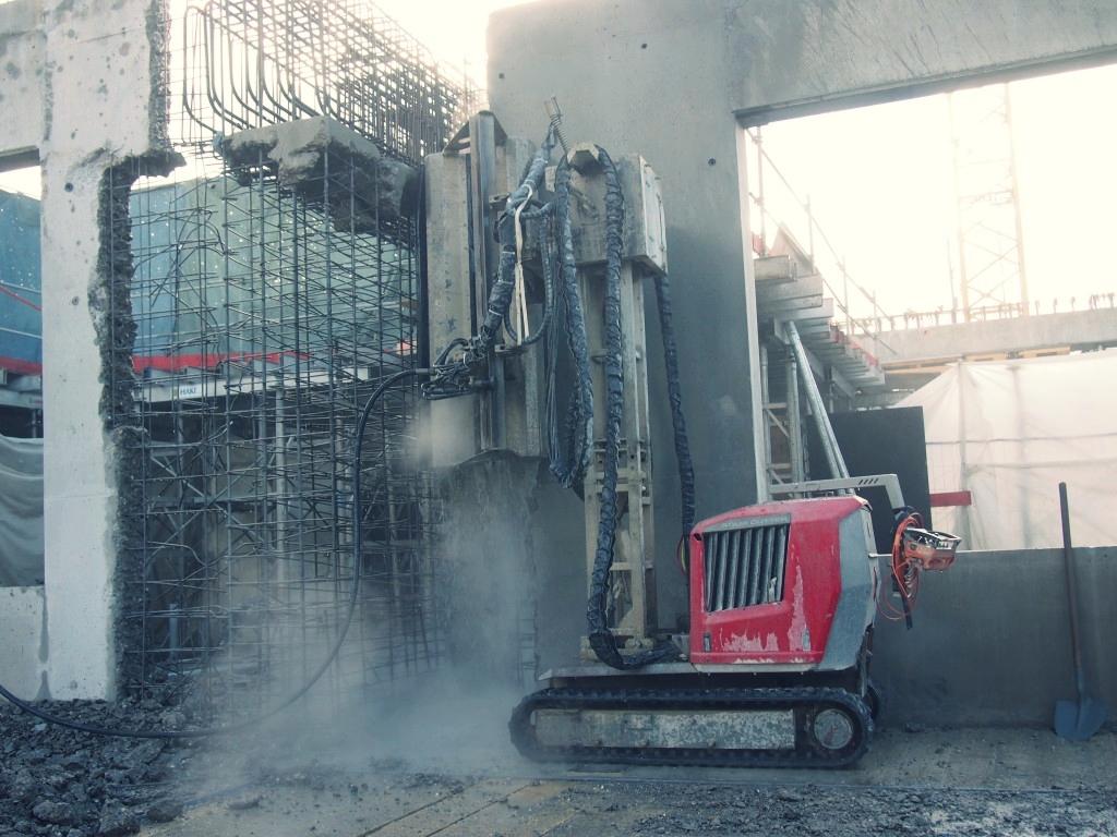 Hydro Demolition (Stock Photo)