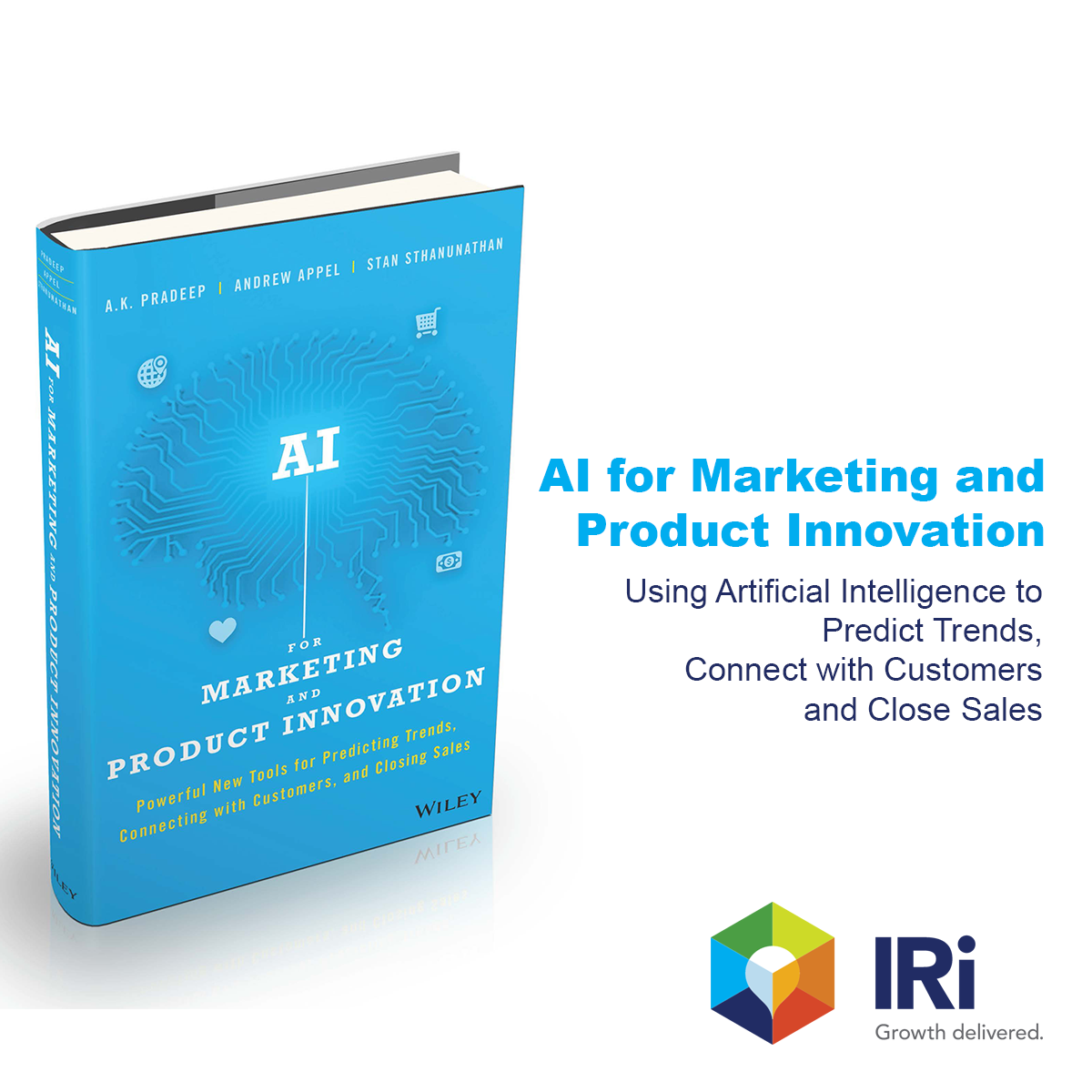Read about it - AI for Marketing and Product Innovation by - A. K. Pradeep, Andrew Appel, and Stan Sthanunathan
