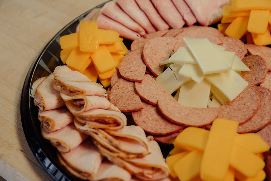 Robertson's cheese and meat party tray