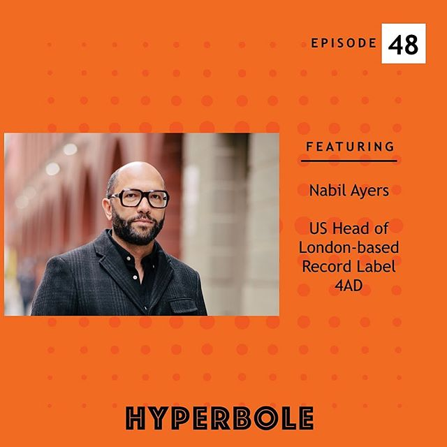 Our new episode drops tonight, but don't miss your chance to get caught up with the interview of @nabilayers - no hyperbole here: meet one of Billboard Magazine's 2019 power brokers! // access via website linked in bio and everywhere you podcast: The Best Banana Ever // Nabil Ayers is the US Head of the London-based record label 4AD, where he has released albums by The National, Grimes, Pixies and many more GRAMMY award-winning artists. Ayers was raised by his mother in New York City; Amherst, Massachusetts; and Salt Lake City, Utah, where he constantly listened to music and played drums. After graduating from The University of Puget Sound, Ayers spent several years in Seattle, where he founded the record store Sonic Boom Records and toured the world as a drummer in several bands.  Ayers' first published article is a 2016 memoir written after he sold Sonic Boom Records. Ayers has gone on to write about race and music for The New York Times, GQ, The Root, NPR's Code Switch, Huffington Post, Vulture, Vox and more. Ayers recently appeared on NPR's All Things Considered with his uncle, the jazz musician, Alan Braufman. He currently resides in Brooklyn, New York, where he was named one of Billboard Magazine's 2019 Power Players and one of the 100 most influential people on Brooklyn culture by Brooklyn Magazine.