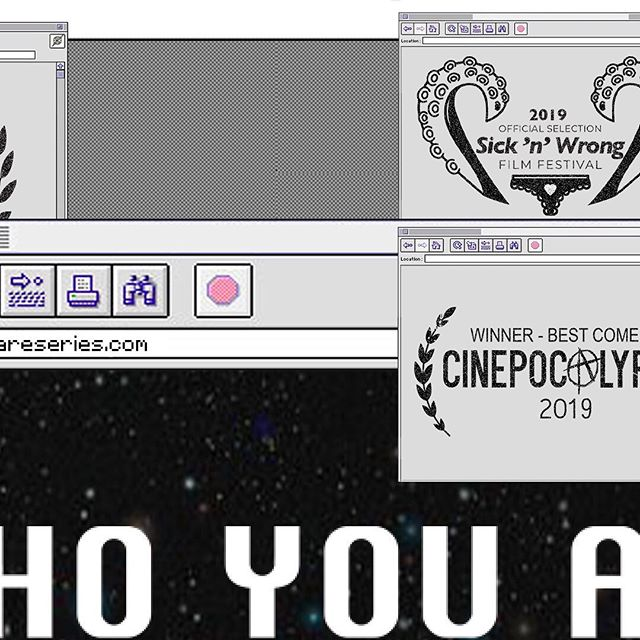 Winner of Best Comedy at @Cinepocalypse. ⠀⠀ ———— #cinepocalypse #sicknwrong #SciFiseries #tvshow #WebSeries #comedyseries #WhoYouAreSeries #WhoYouAre #mundimachine #FilmFestival #indiefilm #filmcommunity #thefilmcommunity #filmmaking #films #filmmaker #comedyvideo #comedyshow #comedyvideos #funnyvideos #funnypics #oldtech #retrostyle #retroaesthetic #macintosh #macintoshplus #vintageaesthetic #80saesthetic