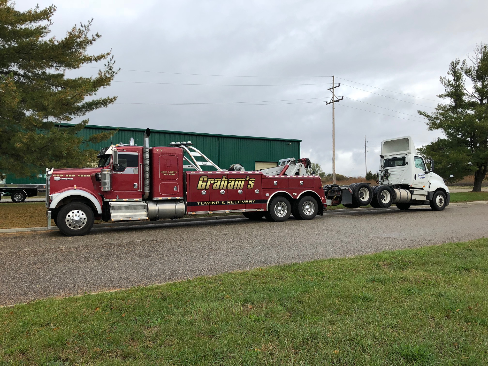 Heavy-Duty Towing - Our heavy-duty wreckers can handle anything you have to throw at them.