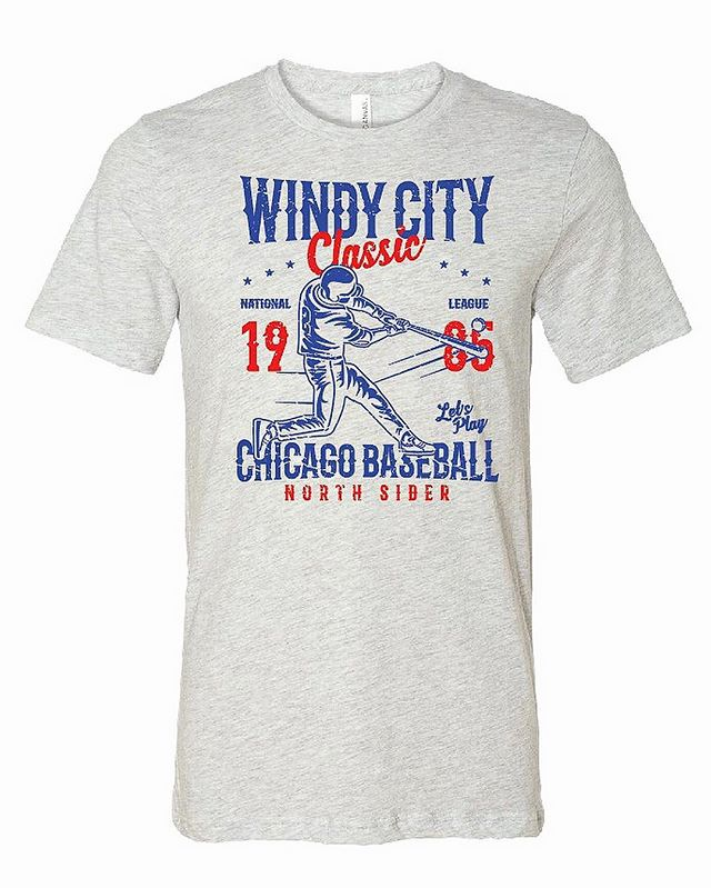 We're really excited for this weekend! We'll be living printing at Fetching Market, which will be at Gallagher Way in Wrigley. Make sure to stop by to print your own Windy City Classic Vintage Tee. There will also be 2 other great designs, so make sure to stop by and check them out. See you there! . . . . . #photooftheday #screenprinting #tshirt #apparel #tshirts #plastisol #wilflex #ryonet #bellacanvas  #design #art #style #fashion #baseball #chicago #cubs #wrigley #northside #sports #vintage #rivarly #windycity #customclothing #handmade #localprinter #smallbusiness #shoplocal #midwestprints #regionwear #fetchingmarket