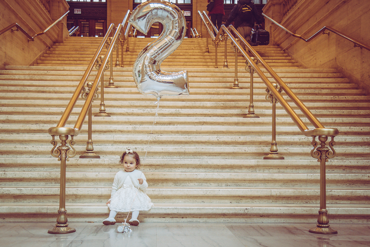 2nd Birthday Shoot - Union Station - Chicago, IL