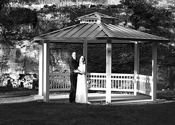 Indian Springs Gazebo wedding