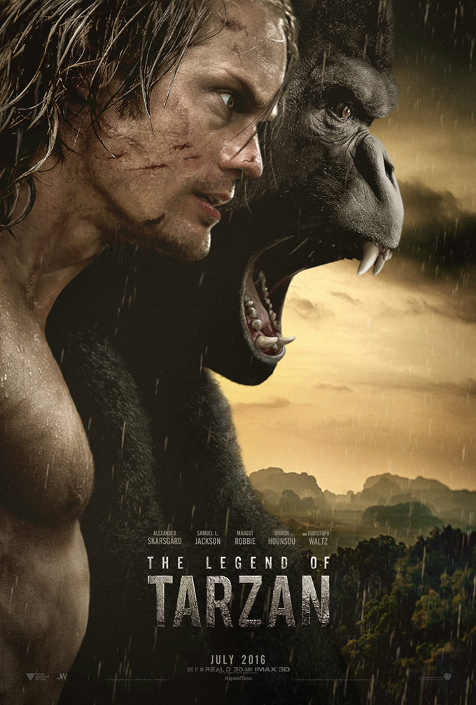 THE LEGEND OF TARZAN - FEATURE FILM - ASSISTANT DESIGNER TO RUTH MYERS