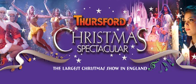 THURSFORD CHRISTMAS SPECTACULAR (UK'S LARGEST CHRISTMAS SHOW)    CO COSTUME DESIGNER TO LINDA MARTIN (FOR 8 YEARS)