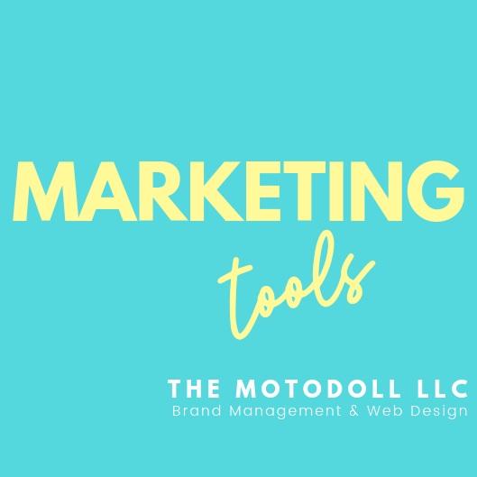 Marketing tools by The MotoDoll LLC.