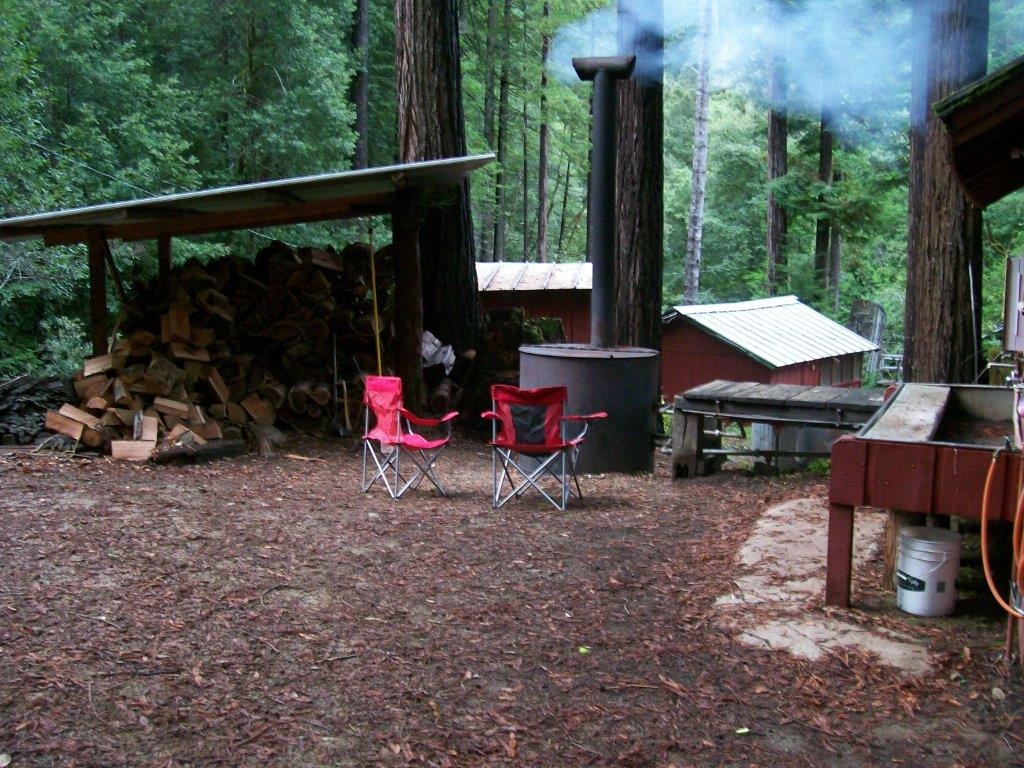 Main Campsite Wood Shed and boiler area..jpg