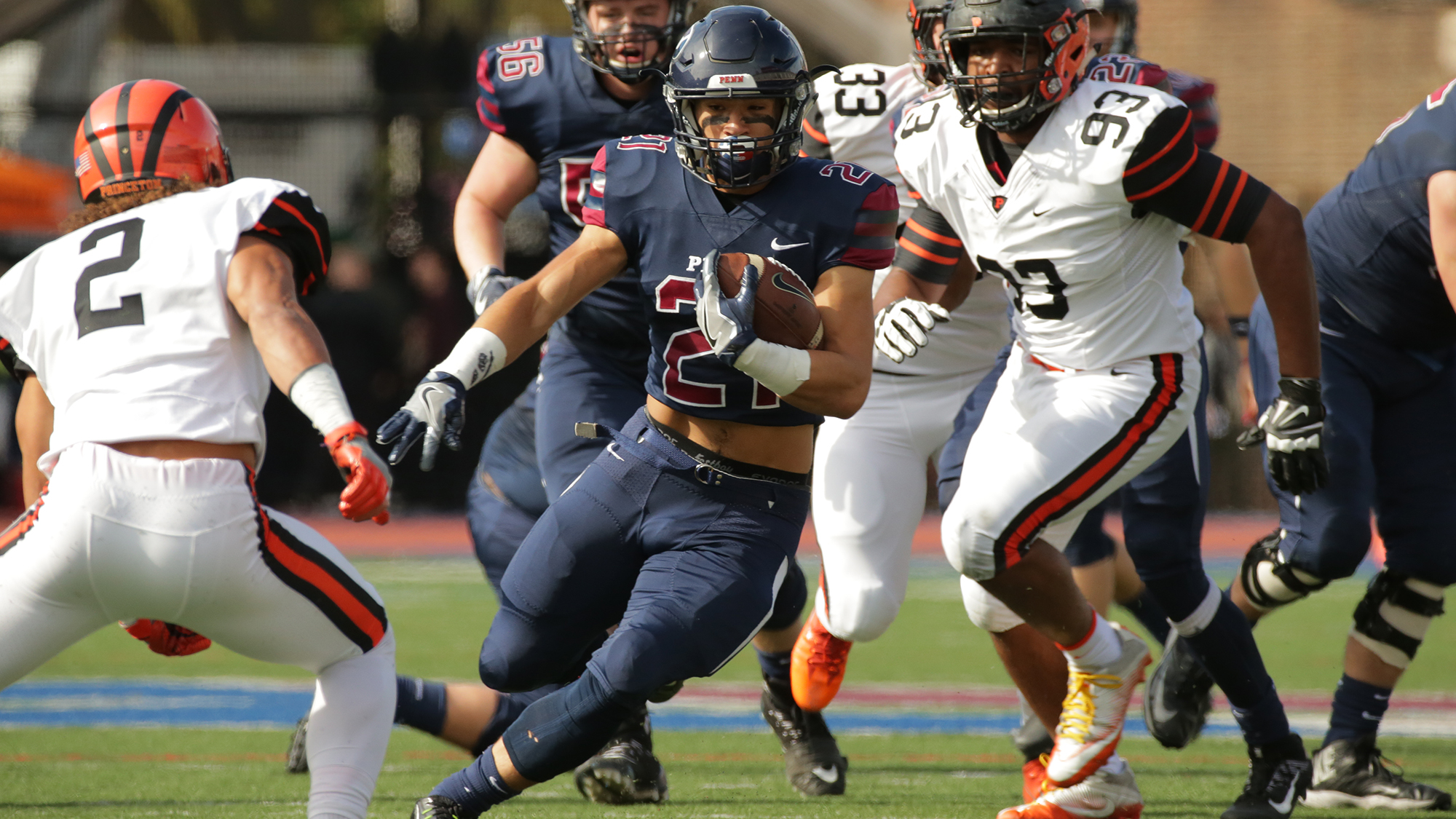 Abe Willows - RB, University of Pennsylvania