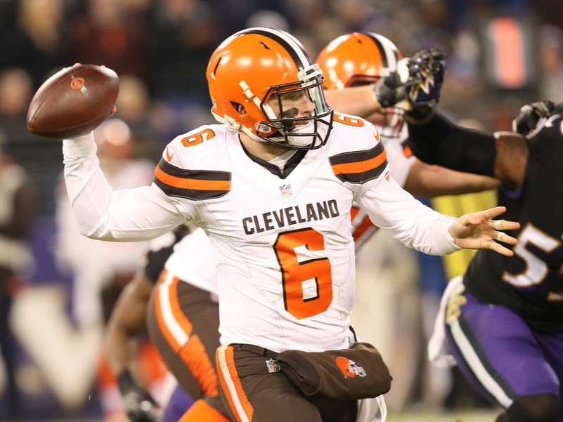 Baker Mayfield - QB, Cleveland Browns
