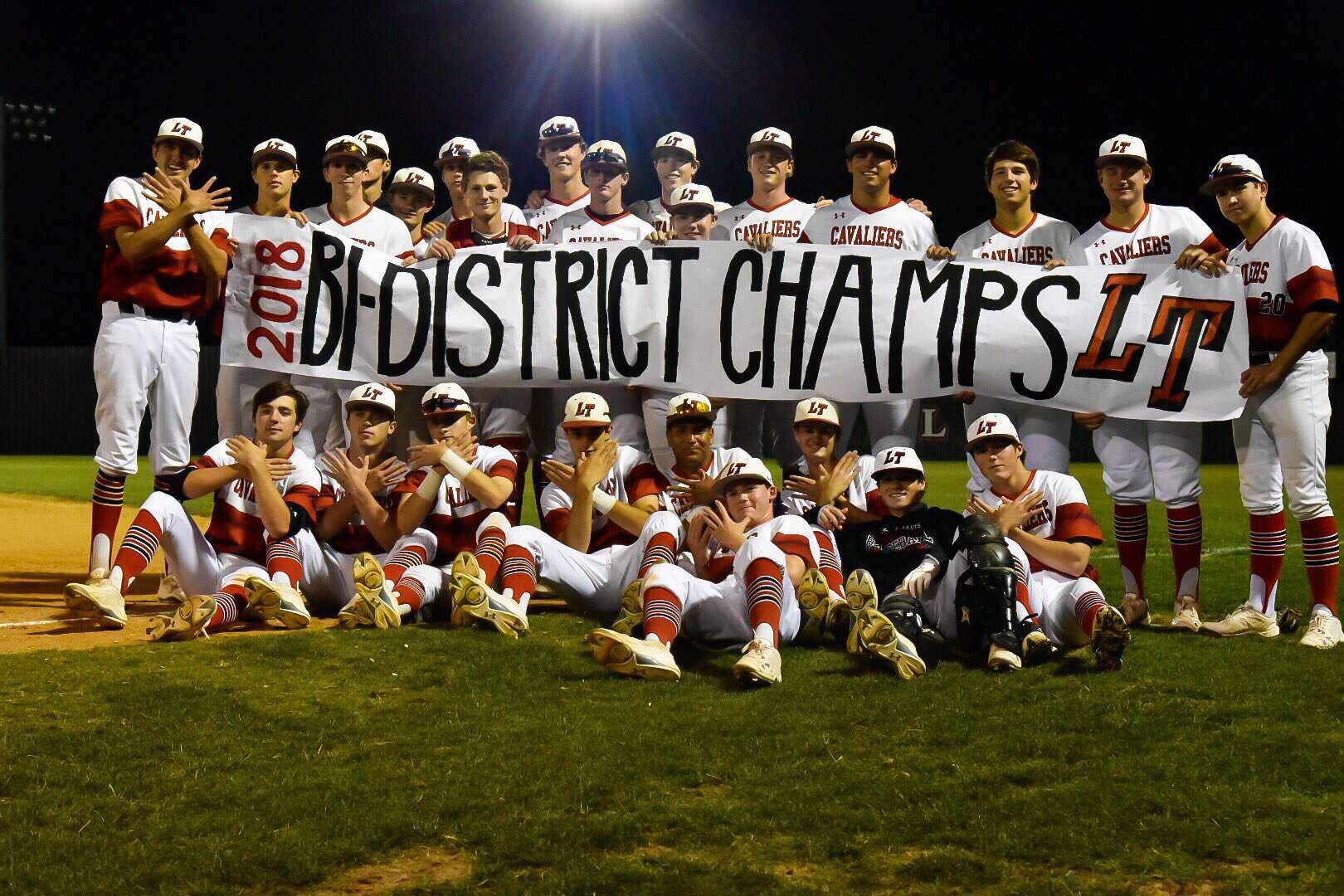 LT Baseball 2018 District Champ