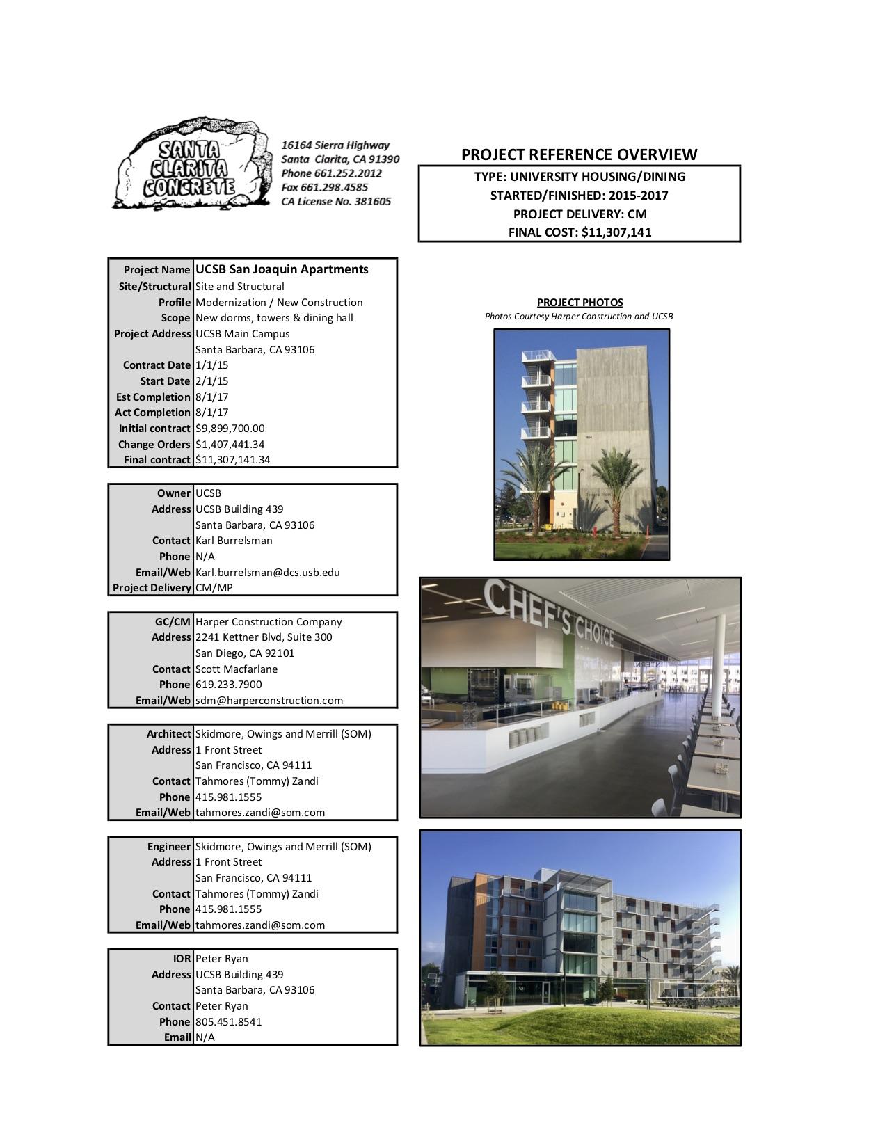 UCSB San Joaquin Apartments