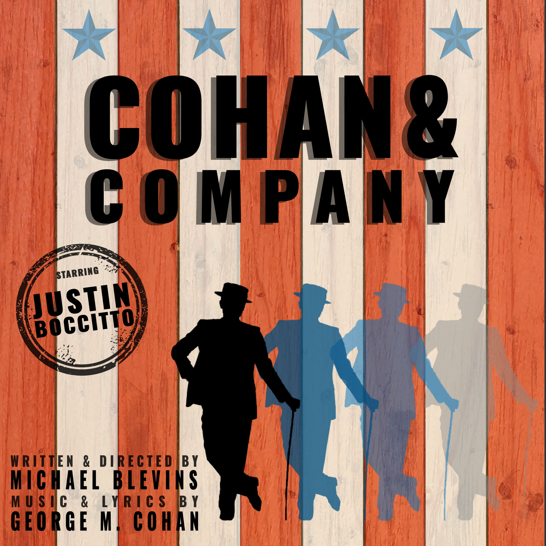 Cohan & Company |  Centenary Stage Company  | New York City |  Justin Boccitto  - Theatre, Film, Music, Dance | Director, Choreographer, Teacher | Design by  REDO U Web Design