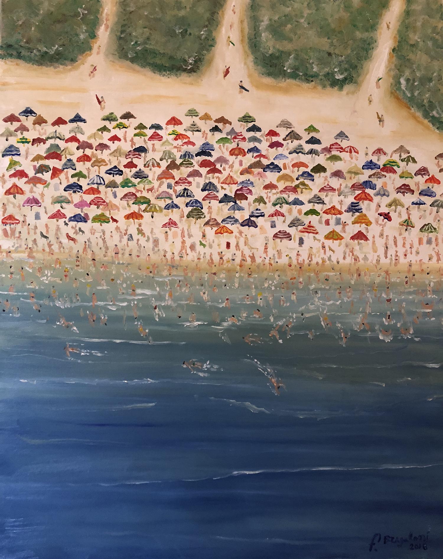 """Italian summer, oil on canvas - 20""""x 24"""""""