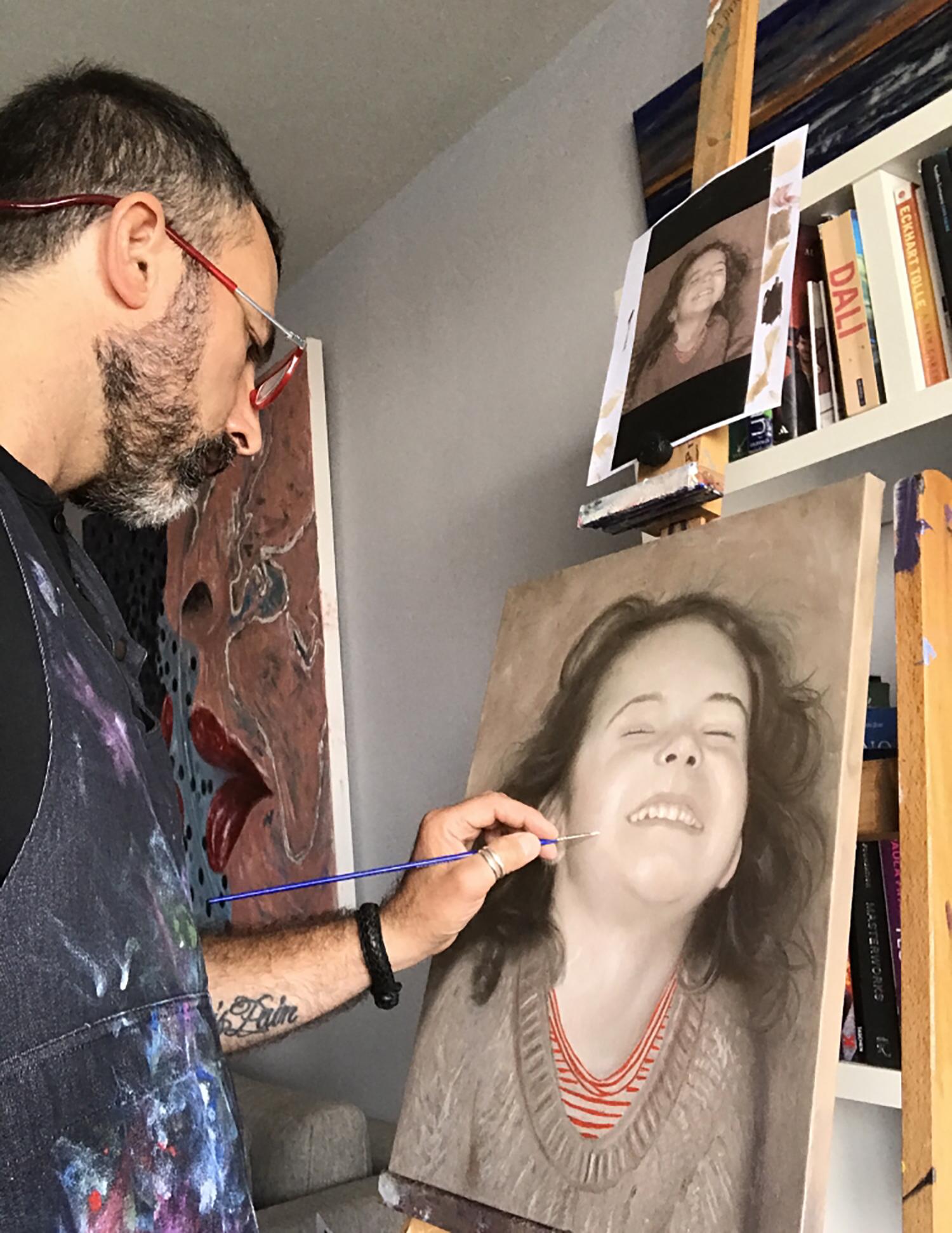 """Portrait - Oil on Canvas - 20""""x 24"""""""