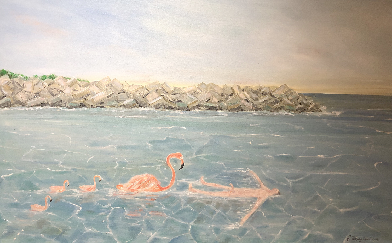 "Mistake - Oil on canvas - 48""x 30"""