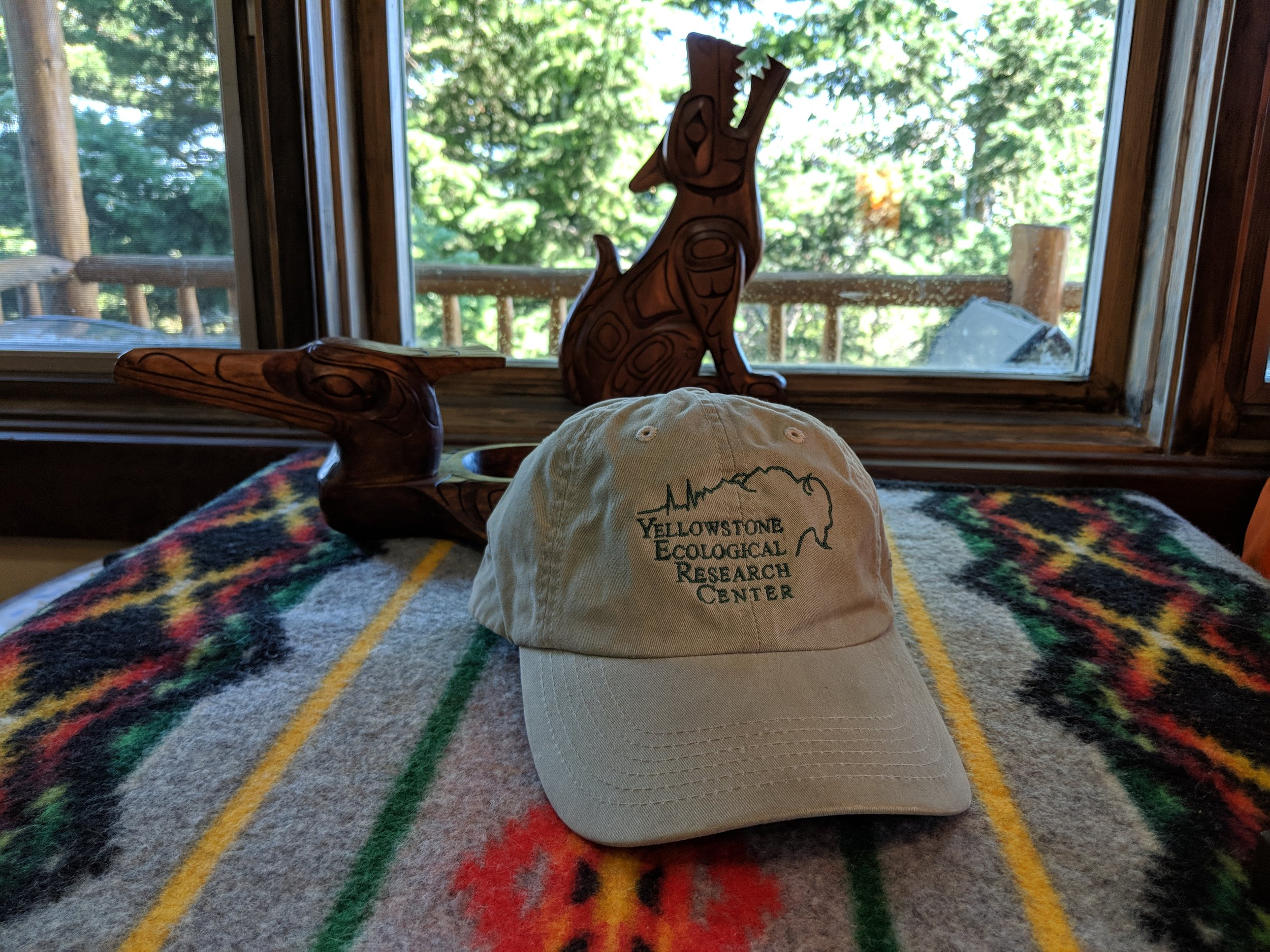 Prize #2: YERC hat with logo, and we will be adding 'bright green' lettering YellWild on the back of the hat.