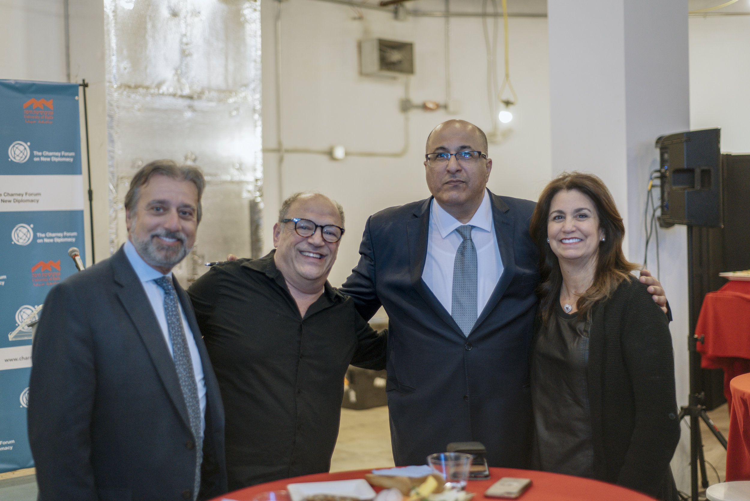 Ido Aharoni and guests