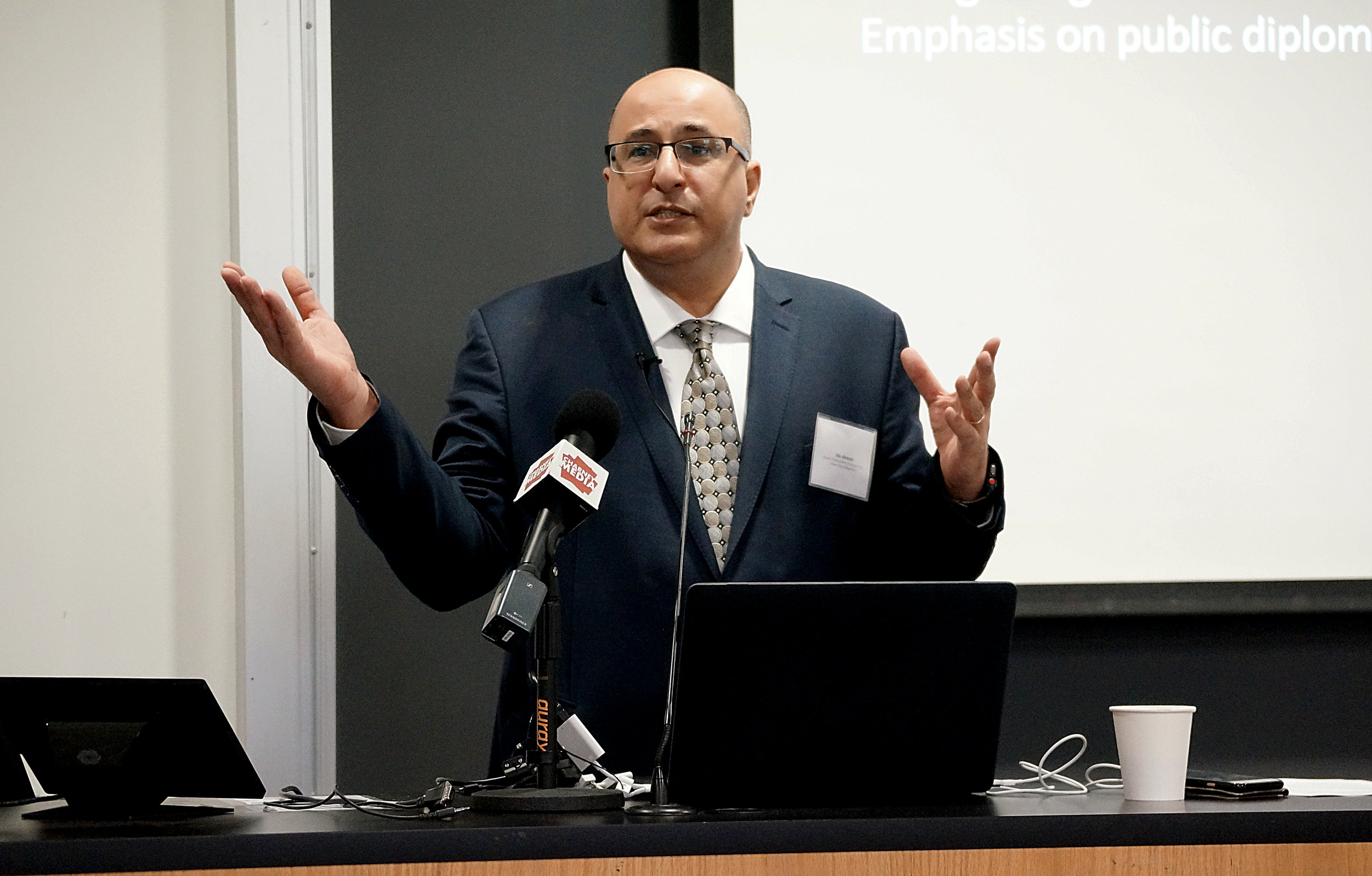 Ido Aharoni, Global Distinguished Professor, International Relations, NYU