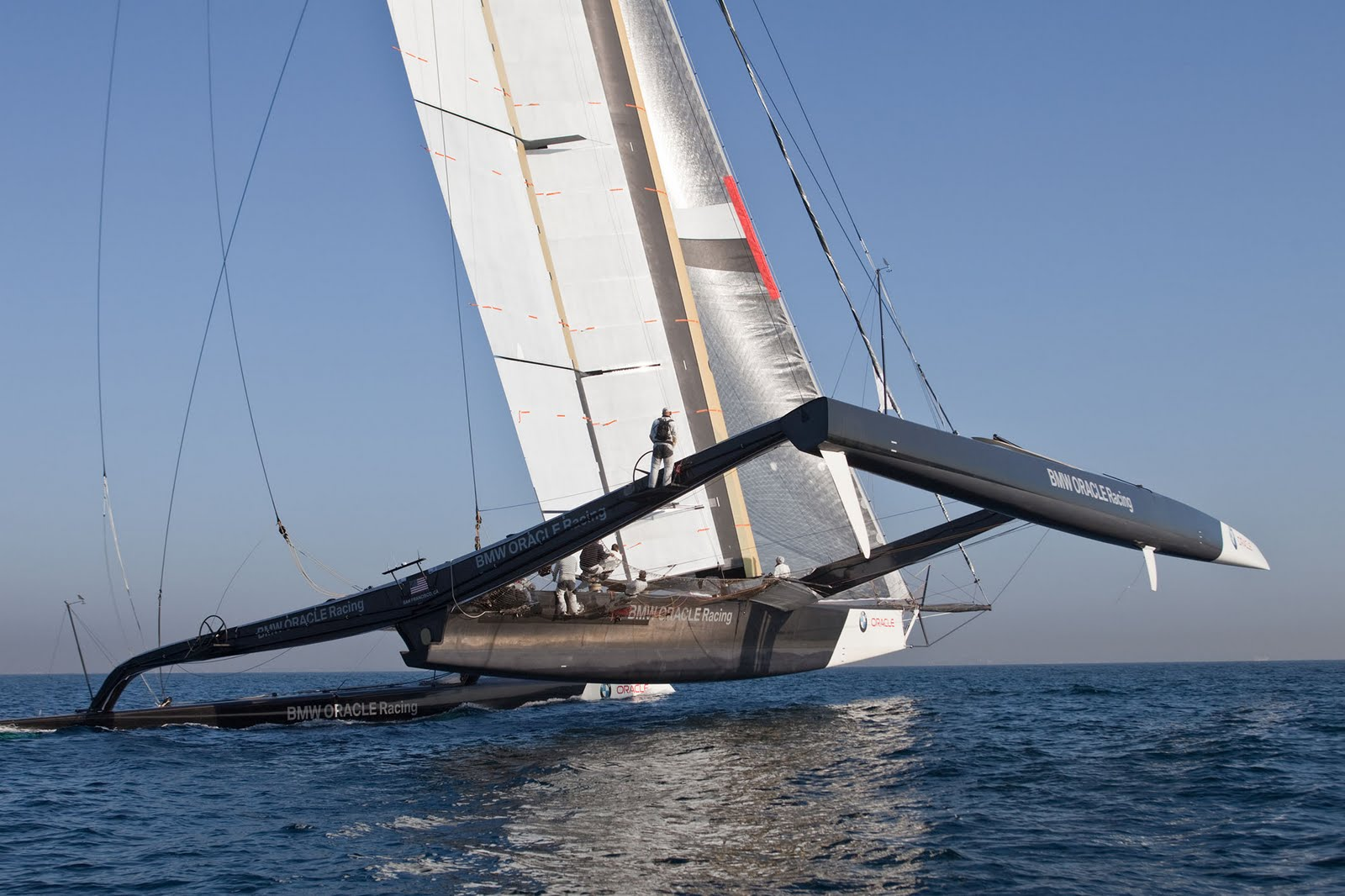 BMW Oracle 90 Foot Trimaran