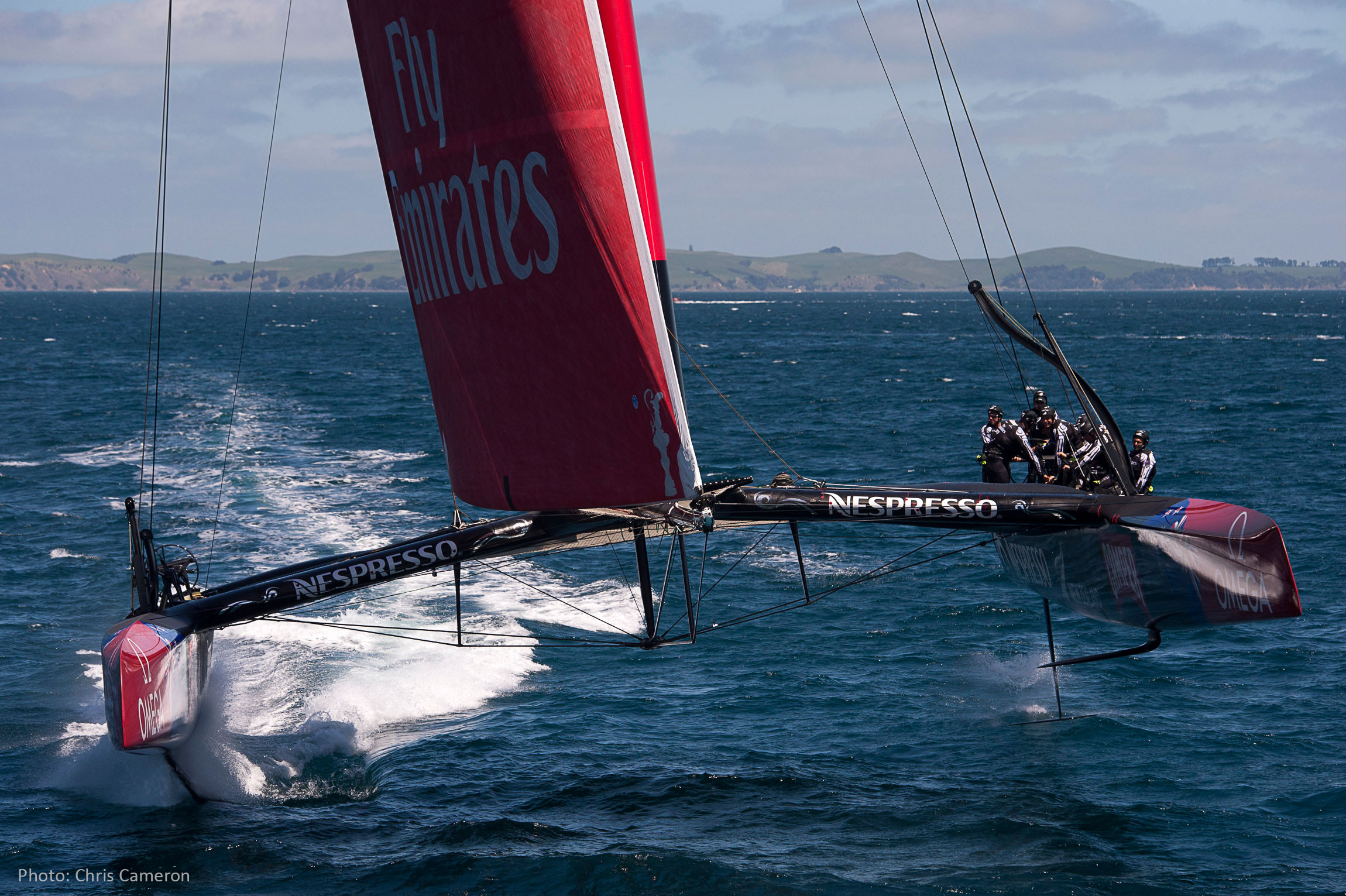 Emirates Team New Zealand AC 72