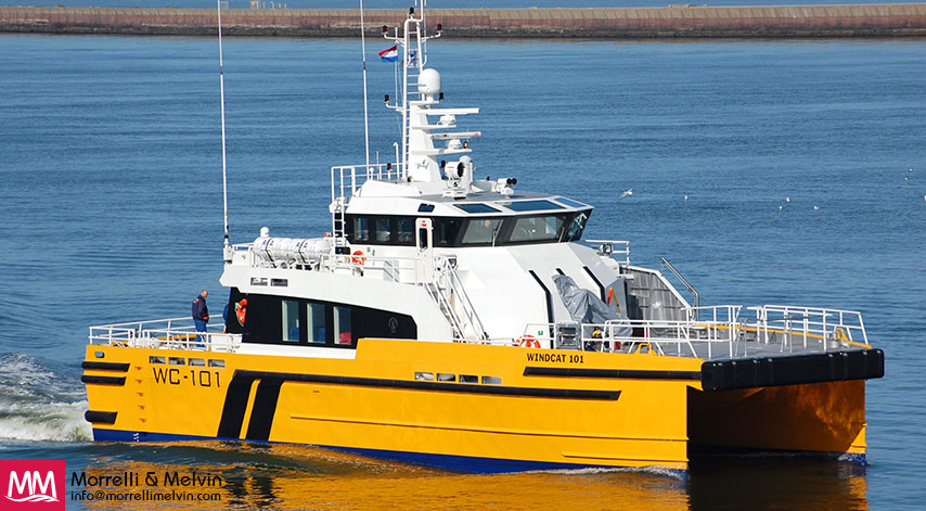 WindCat Workboats 101 Offshore Crew Vessel