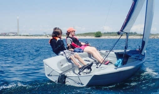 Sailing Fanatics OHSF Water Sport Camp RS Vision fast and fun learn to sail advanced sailing CANSail 3 and 4 camp in Toronto
