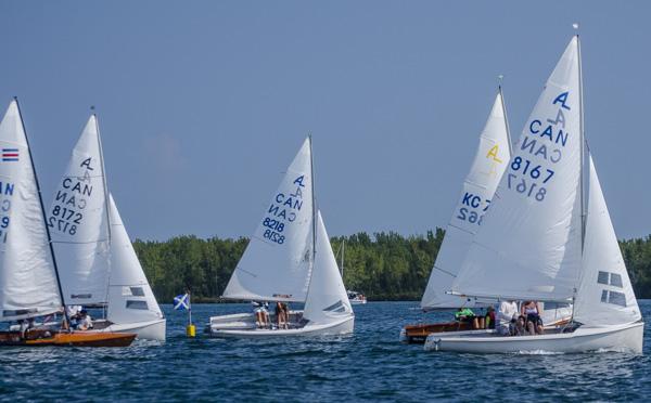 Sailing school regatta at OHCC Toronto
