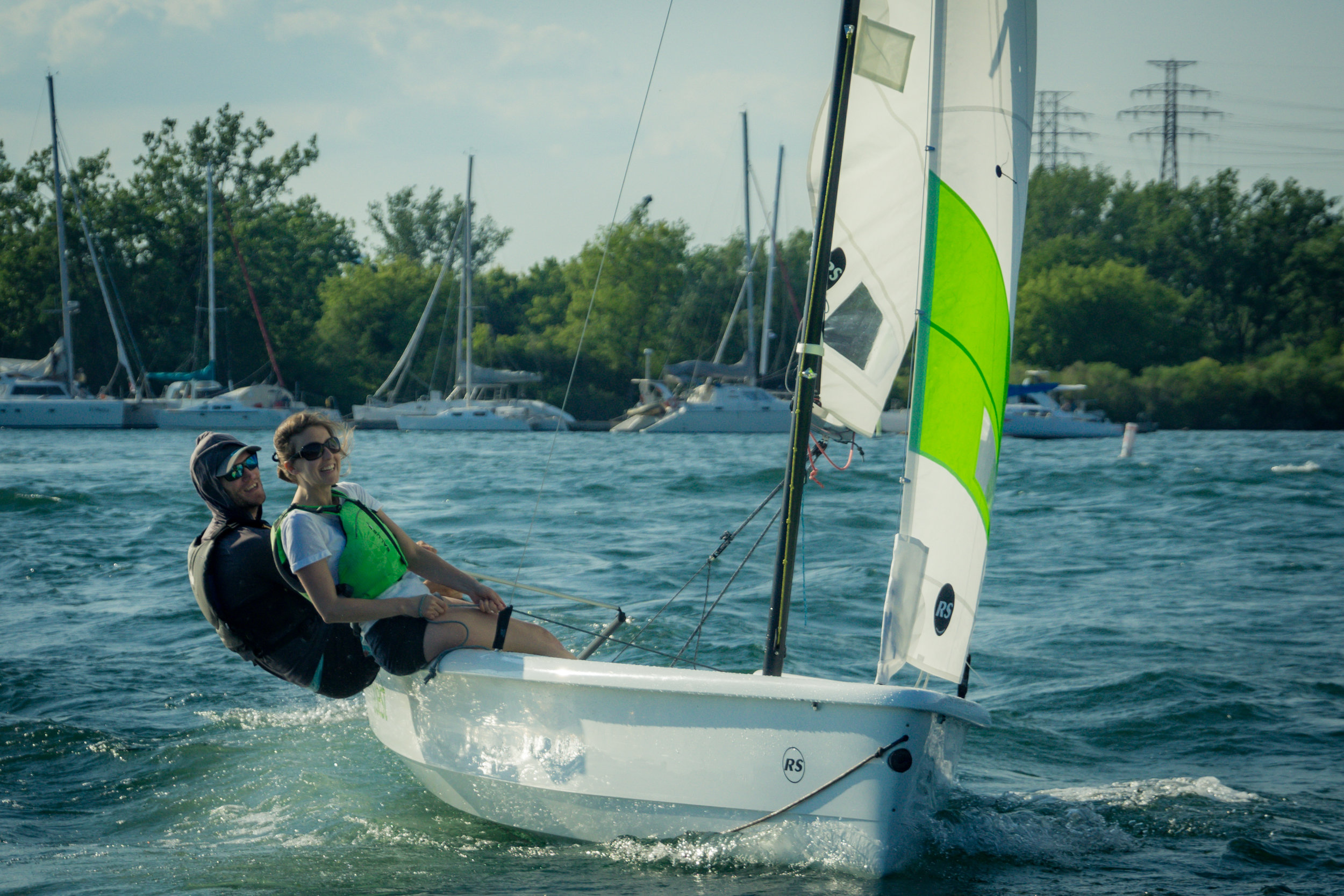 Take a CANSail 3 course and you'll have the confidence, knowledge and skills to sail in stronger winds or get involved in racing.