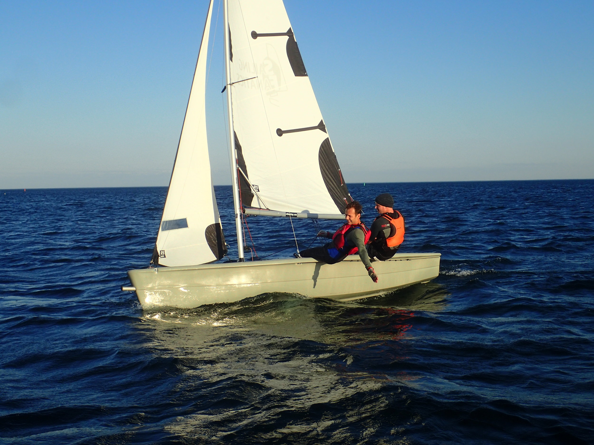 CANSail 3 can really boost your confidence and get you out sailing for a longer season because you know how to sail in stronger winds