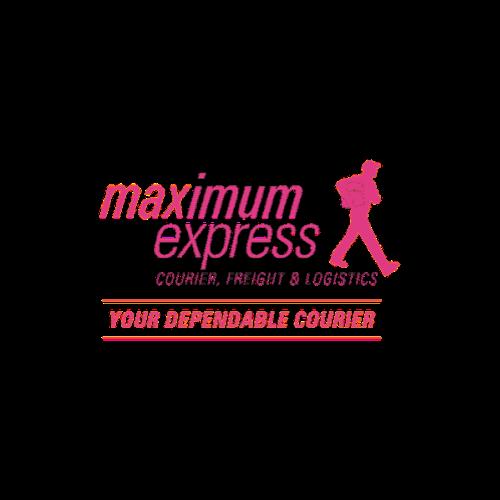 Maximum Express pink logo.png