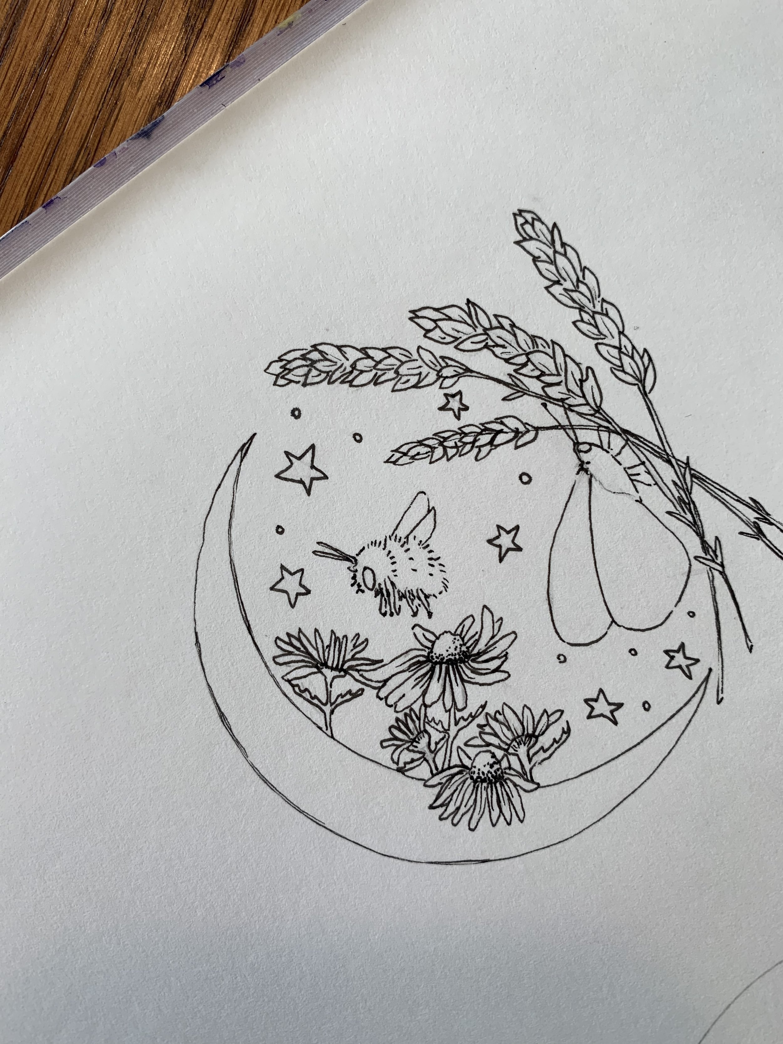 Goodnight Tea Illustration