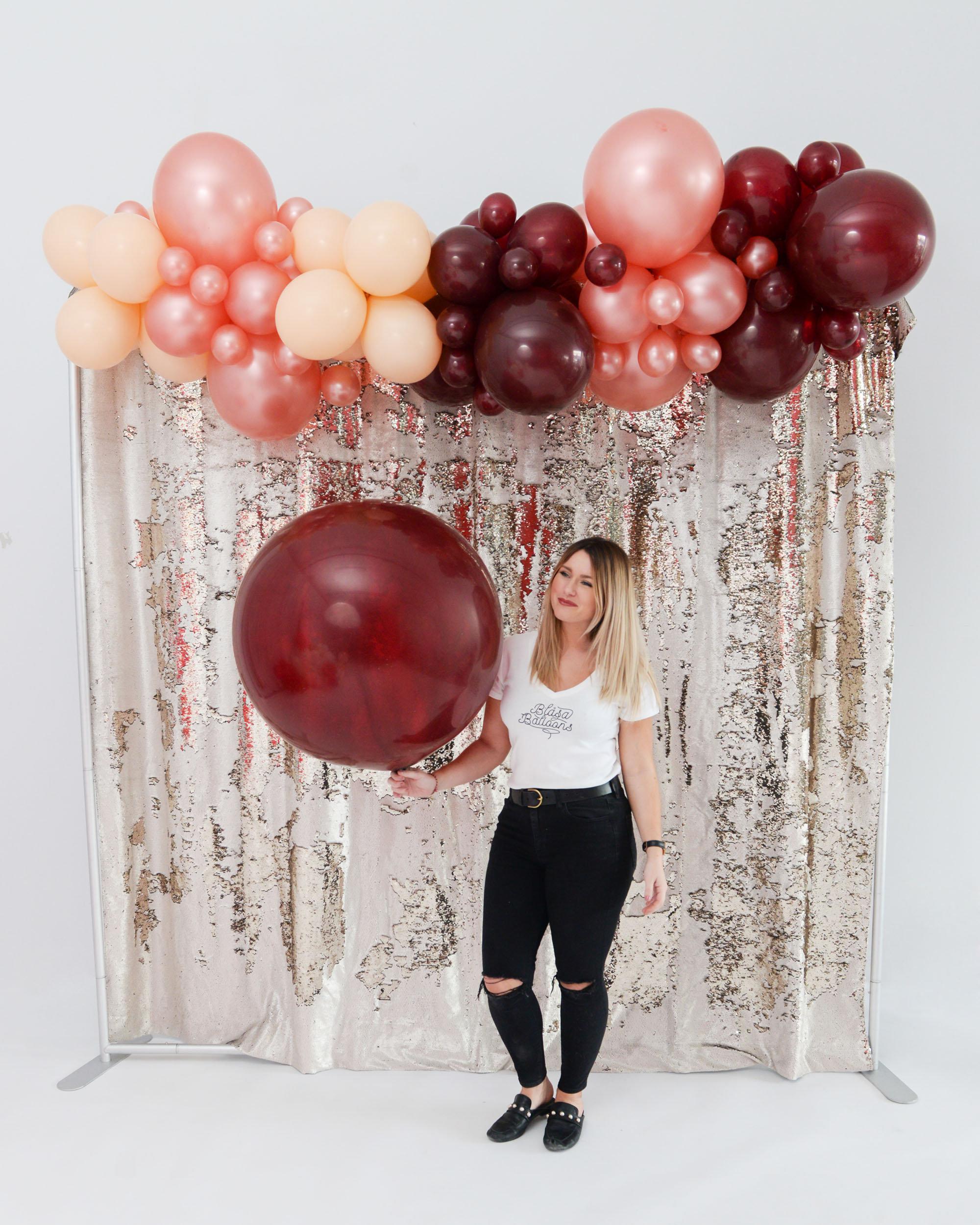 Que Syrah Syrah Balloon Garland Kit Blasa Balloons