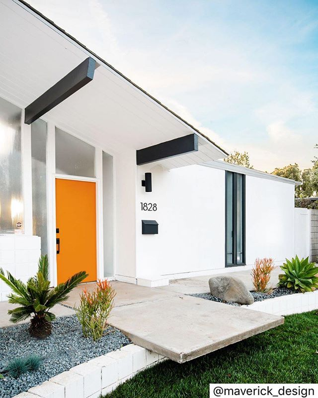 We always love a good pop of color 💥 - REPOST @maverick_design: Coming soon, this gorgeous mid-century home reimagined by Maverick Design! Is this the Eichler you have been waiting for? . . . . . . 📷 @molgoodman  #eichler #eichlerhomes #eichlerliving #eichlerhome #eichlerforsale #midcenturymodern #midcentury #interiordesign #interiordesigner #modernliving #modernism #modernismweek #dwell #dwellmagazine