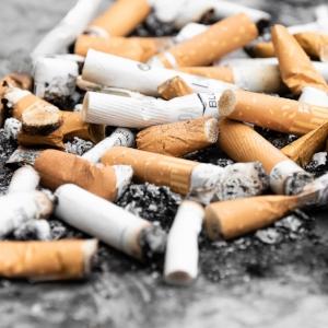 5. Trash cigarette butts -