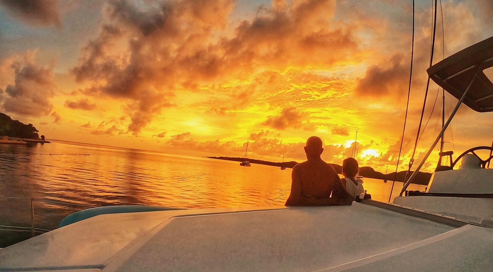 dorian sunset