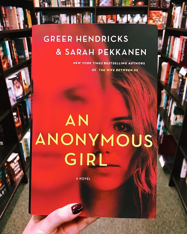 """Thank god it's Friday & thank god for murder mysteries to get us through the rainy weekend. 🌧🔪Check out Laura's review of An Anonymous Girl by @greer.hendricks and @sarahpekkanen. . From the review: """"I'd compare this book to watching the Bachelor. Would someone judge me for how much I enjoyed it? Probably. Do I care? No. Don't let the intellectual haters prevent you from enjoying this thrilling read."""" (Link to the full review in bio) . Anyone else love thrillers and mysteries? What are your favorites? . #bookbabes #bookbabesclt #bookstagram #bookstagrammer #booksaremagic #bookblogger #bookclub #booksbooksbooks #readersofinstagram #goodreads #goodbooks #books #booksonbooks #currentlyreading #booksofinstagram #booksofig #bookshelf #girlswhoread #clt"""