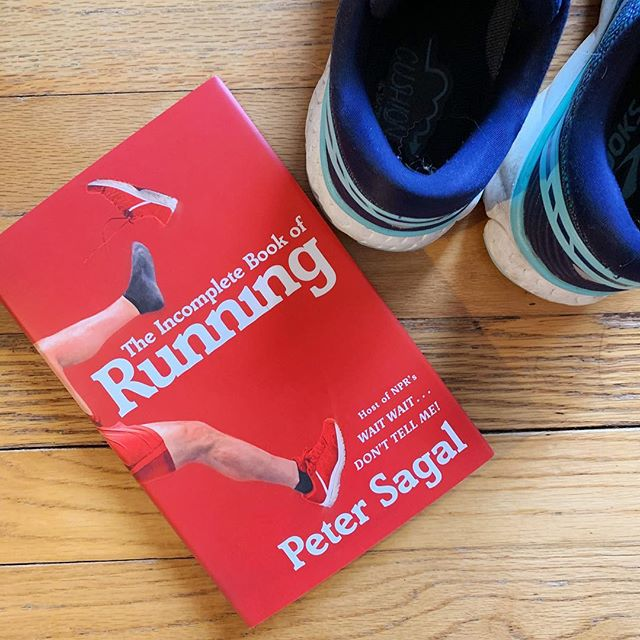 """Any other book babes out there who like to run? 🏃♀️📚 .  Abby read Peter Sagal's The Incomplete Book of Running after training for a half marathon last year - it's a lovely, darkly funny memoir about life and running from the host of NPR's Wait Wait...Don't Tell Me. .  From the review: """"Reading this made me remember, begrudgingly, why I love running so much - and even made me put on my sneakers and get out the door a few times."""" 👟 .  Check out our full review - link in bio! ✨ .  #bookbabes #bookbabesclt #bookstagram #bookstagrammer #booksofinstagram #bookreview #running #booksandrunning #booksaremagic #bookish #goodreads #igbooks #bookaddicts #fortheloveofbooks #fortheloveofreading #booknookstagram"""