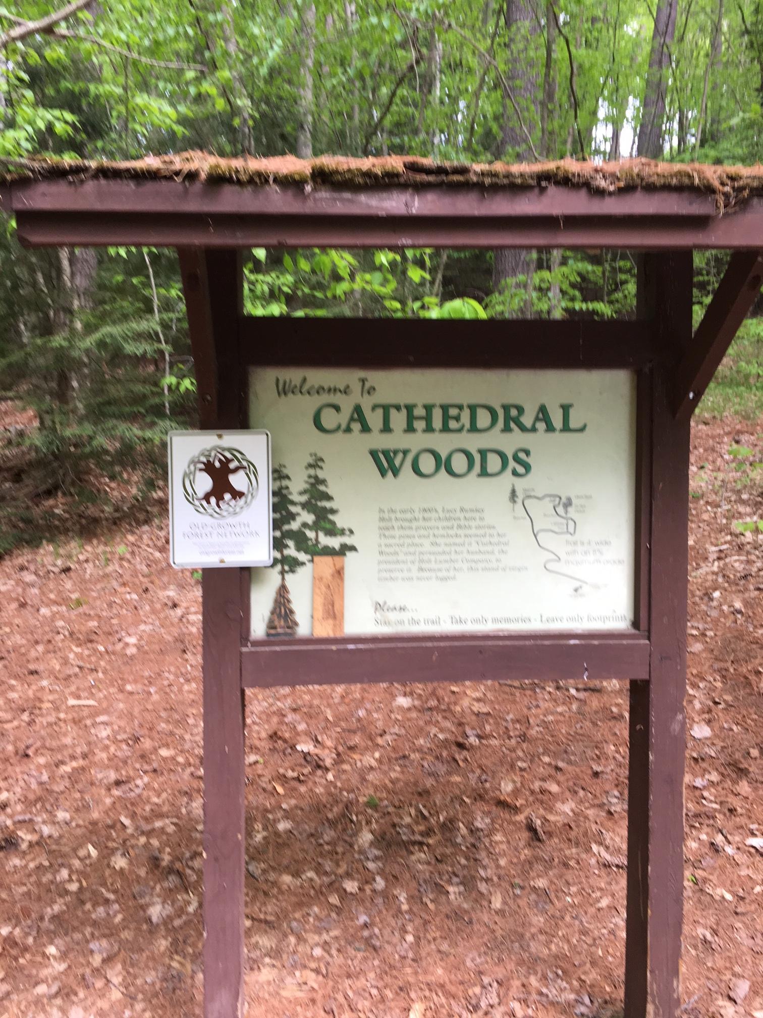 OGFN sign at Cathedral Pines.JPG