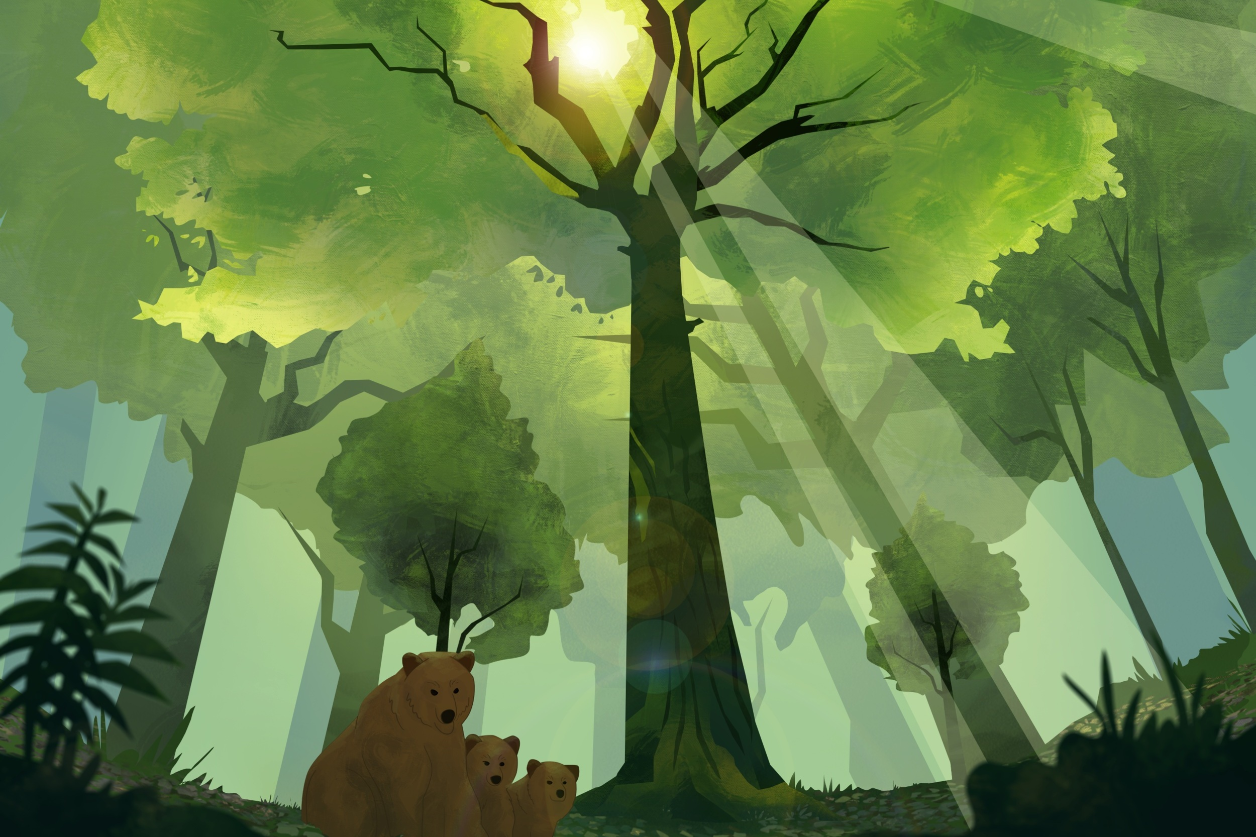"""The Healthiest Forest - A short educational animated video written by forest ecologist Dr. Joan Maloof, """"The Healthiest Forest"""" explains the importance of leaving forests unmanaged so they can achieve old-growth status.This is a wonderful introduction for students, foresters, private forest owners, land & forest trusts, and anyone interested in sustainable forestry. Learn a lot in under five minutes!"""