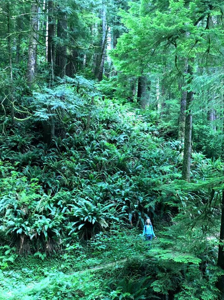 Joan in Siuslaw National Forest by Susan Ives.jpg