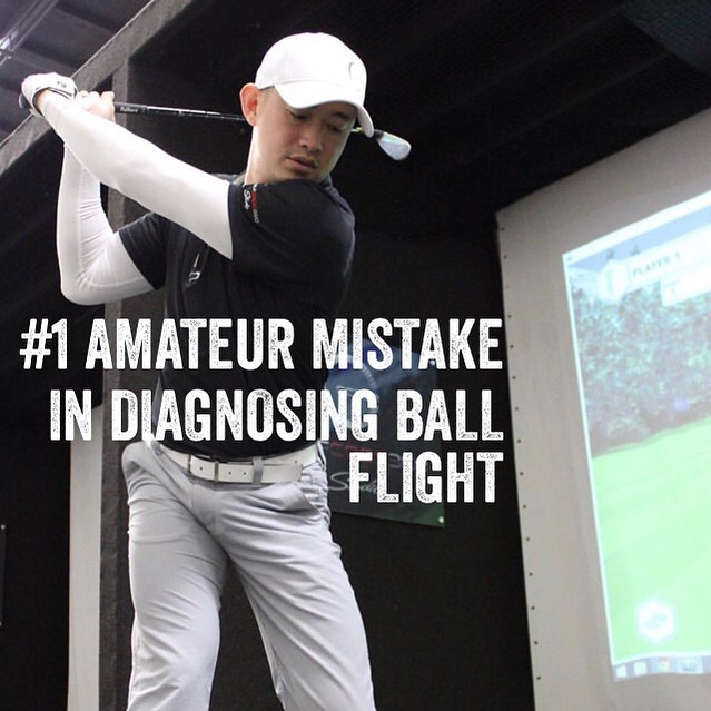 """Golfers tell me they want consistency. Almost everyone says, """"the ball doesn't go straight"""" and the rest say """"the ball doesn't go far enough"""" which isn't out of the question but believe it or not, this is the #1 mistake amateurs make in diagnosing their golf problem - ignoring the quality of CONTACT. Ball flight includes 3 characteristics: 1) contact 2) direction 3) distance. You can't have direction or distance without contact and the quality of contact can affect direction and distance. Ball flights that spin right or left unintentionally are simply """"undesired"""" they're not incorrect but if they are intentional are correct but still require good contact. So the quality of contact isn't directly related to desired direction but consistent contact is required before we start diagnosing direction or distance. At your next lesson, let's review the 2 characteristics of contact so we can work in them individually so we have a fighting chance of controlling direction and distance. See you all soon! #golf #golfer #golfing #golfcourse #golfcode360 #golfcode360studio #golfgirl #thankful #thinking #big #dream #big #nevergiveup #orange #county #southern #california #losangeles #instagram #instagood #instadaily #instalike #success #succeed #successful #biomechanics"""