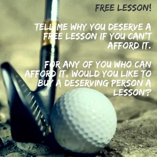 It's not just about the money. I have a gift and I want to share it especially for those who deserve some help. 1) Follow if you aren't already 2) Tag golfers who would benefit from this page and this offer 3) Comment on why you deserve some guidance in golf. 4) If you want to donate lessons it would be to a deserving golfer(s) I look forward to meeting you in person. See you soon! #golf #golfer #golfing #golfcourse #golfcode360 #golfcode360studio #golfgirl #thankful #thinking #big #dream #big #nevergiveup #orange #county #southern #california #losangeles #instagram #instagood #instadaily #instalike #success #succeed #successful #biomechanics