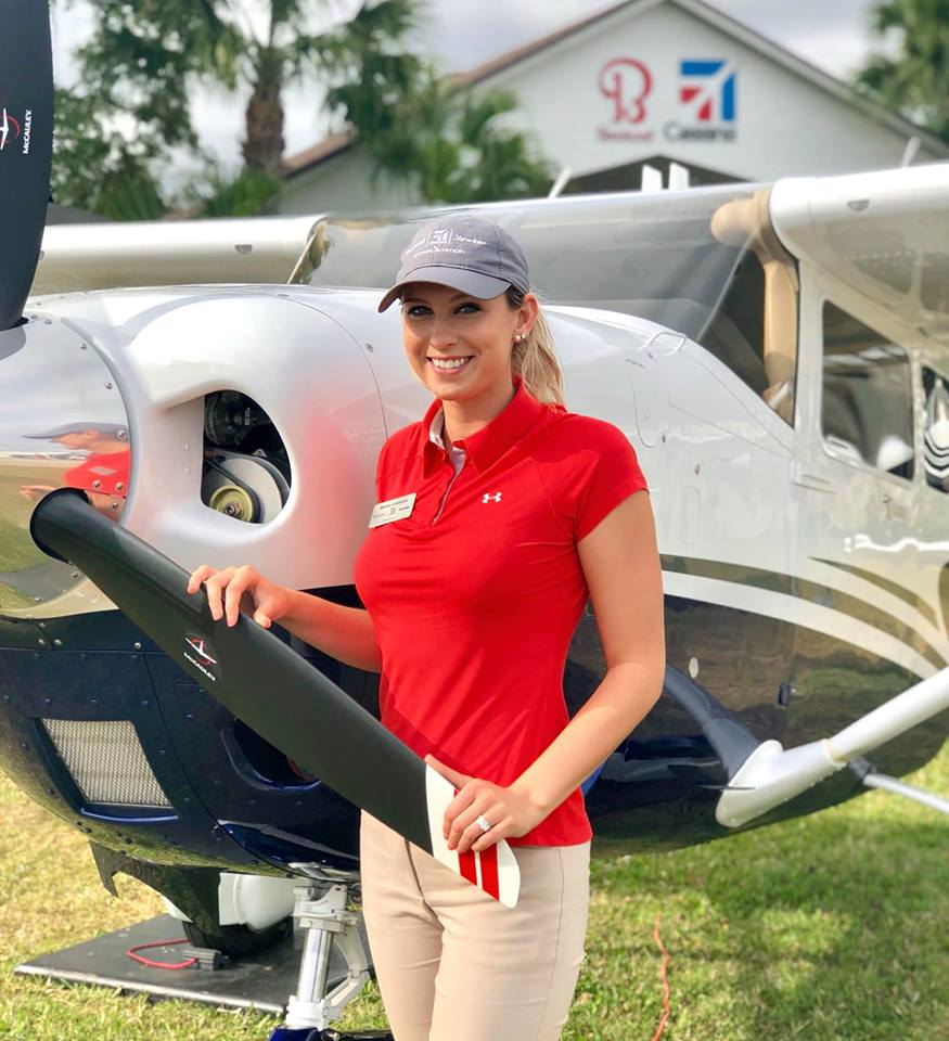 Season 1 Episode 9: Mindy Lindheim: Commercial Pilot & CFI  Mindy Lindheim  Cessna/Beechcraft Sales Director, Commercial Pilot and CFI Mindy Lindheim explains her passion for flying, emphasizes the importance of PIREPs, and explains the dynamic of flying during the winter.