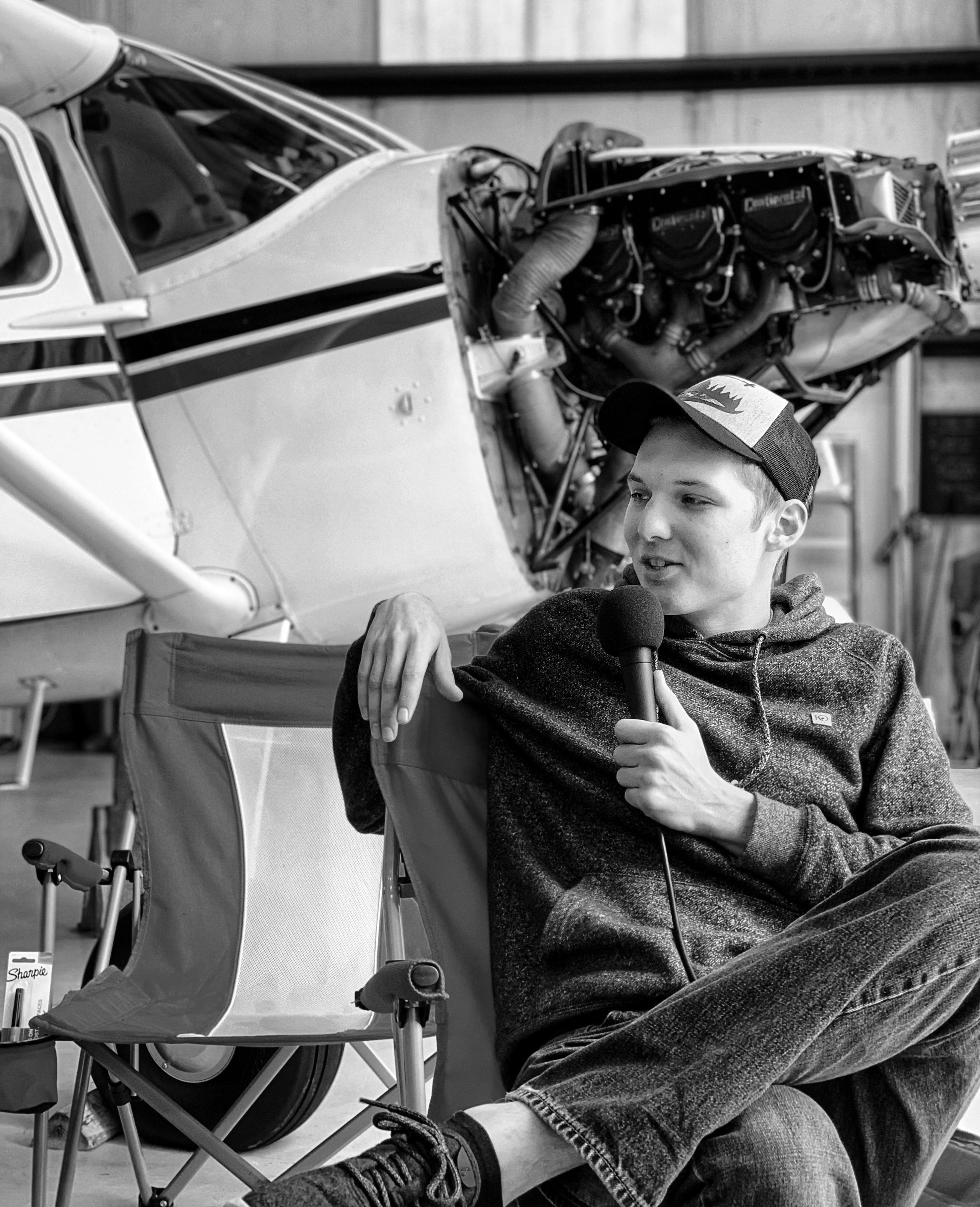 Season 1 Episode 12: Ryan Hunt: Flying Warbirds & Turning Wrenches  Ryan Hunt  Inside the hangar at Falcon Field (KFFC) with AOPA Flyby Crew member, Ryan Hunt. A 23 year old commercial pilot flying T6's, turning wrenches and creating his own legacy in aviation.